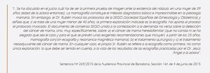 negligencias medicas ginecologia casos reales bufete abogados expertos errores medicos ginecologia barcelona madrid