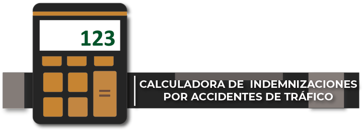Calculadora indemnizaciones accidentes de tráfico banner